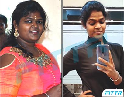 An inspiring fat loss journey