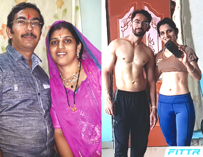 couple weight loss transformation