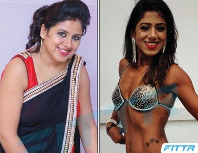 Transformation Journey Of A Bikini Model